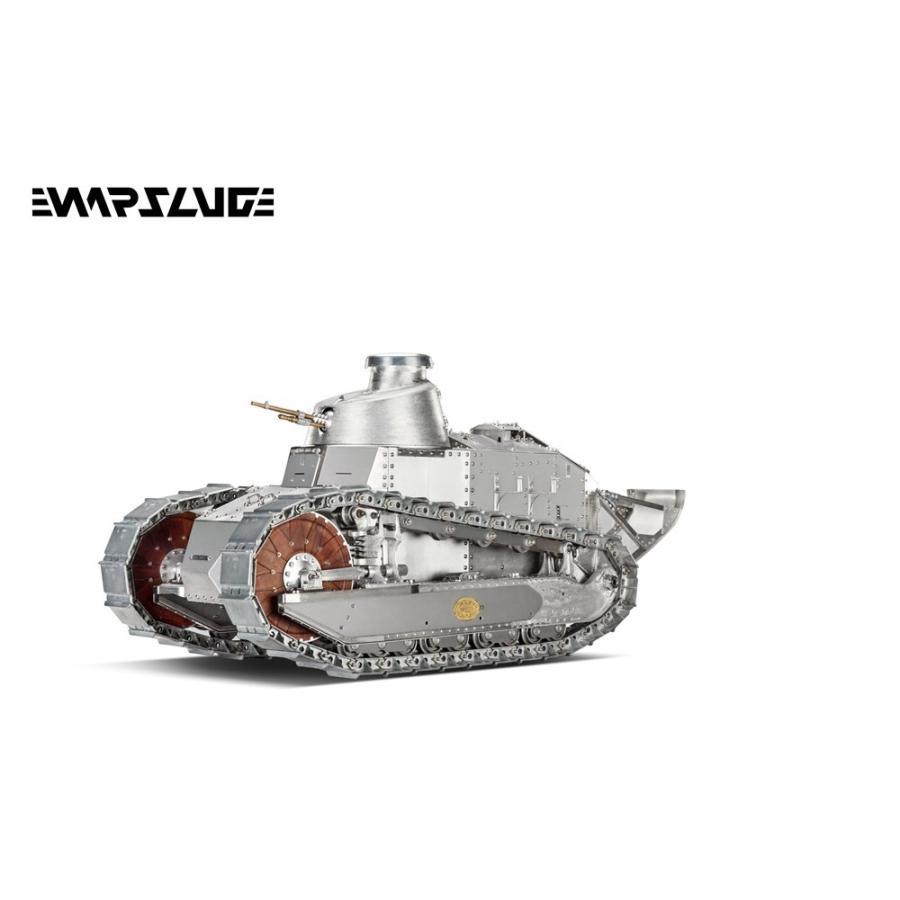【予約・完全受注発注】WARSLUG オール金属製可動ハイエンドレプリカ戦車 1/6 ルノー FT-17(フランス軍) 完成品