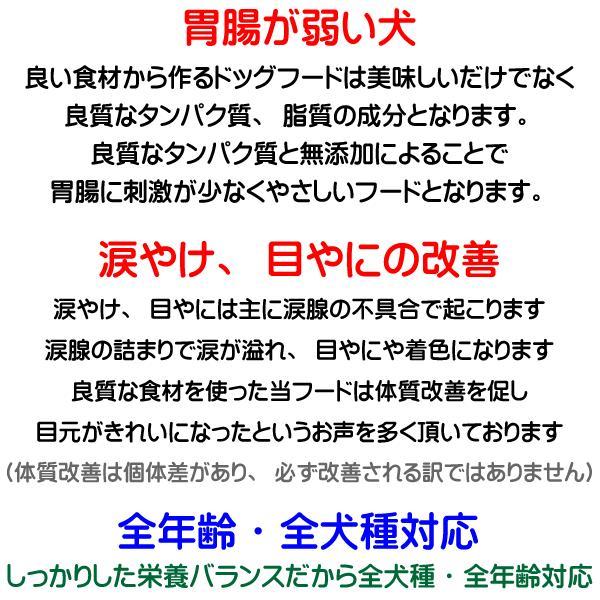 愛犬の健康 を気にする方の 国産 無添加 ドックフード お米の ドッグフード お試しセット2種類 鶏・馬 (犬用全犬種全年齢対応) potitamaya-y 13