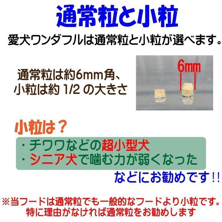 【愛犬ワンダフル】 鶏肉タイプ  200g  (小粒も選べます) ナチュラル ドッグフード (犬用全年齢対応) potitamaya-y 02
