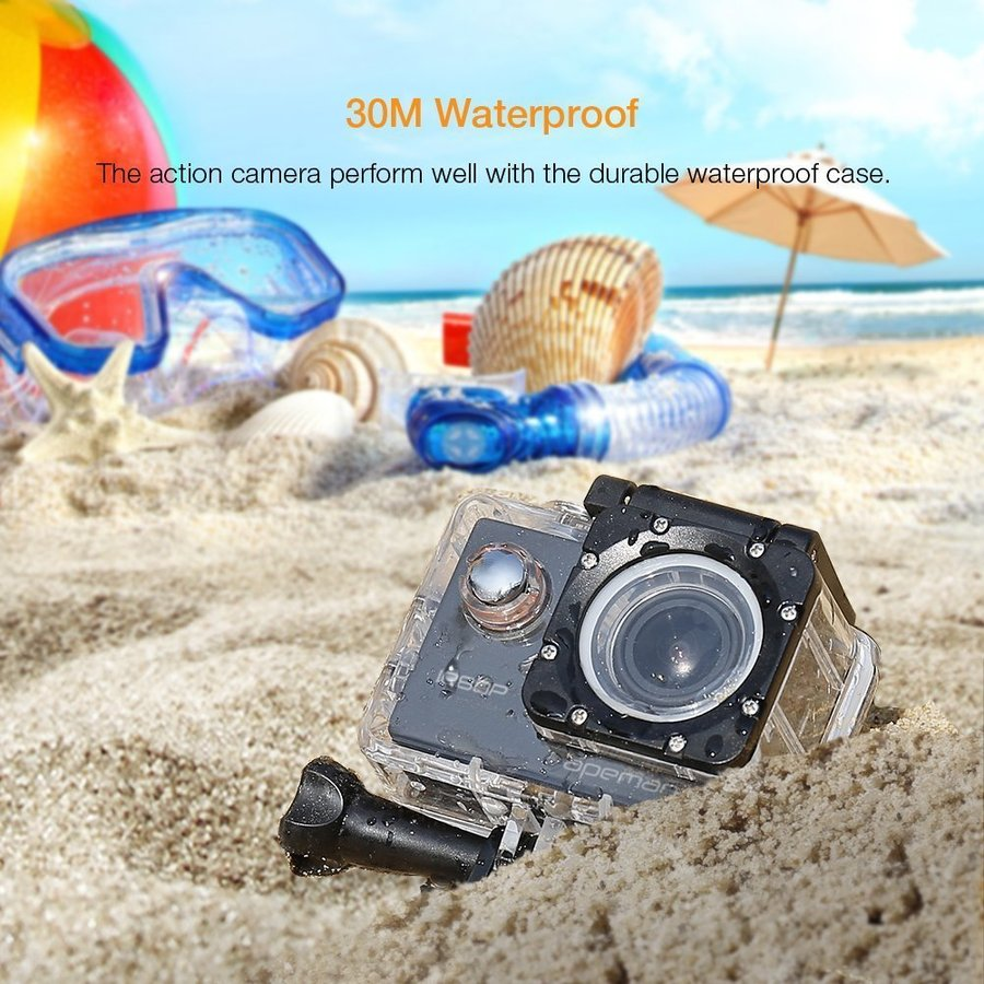 【進化版】 APEMAN A66S アクションカメラ 1080P高画質 1400万画素 HDMI出力 スポーツカメラ 2インチ液晶画面 40M 防水カメラ 170度広角レンズ アクセサリー pour-moi 05