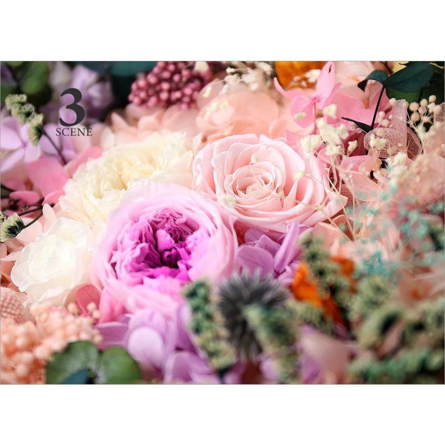 プリザーブドフラワー プレゼント ギフト 「アンシャン・デ・フルール」花 誕生日 ギフト pourvousparis 10