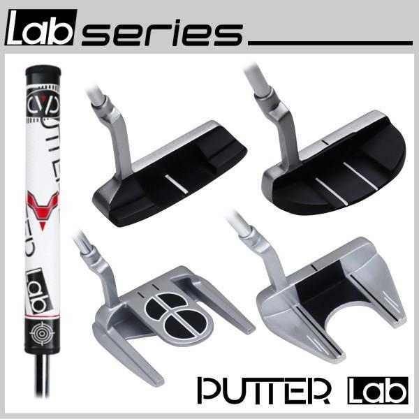 ビッググリップパター パターラボ PUTTER Lab スチールシャフト パター 太ストレートグリップ ラボシリーズ|powerbilt