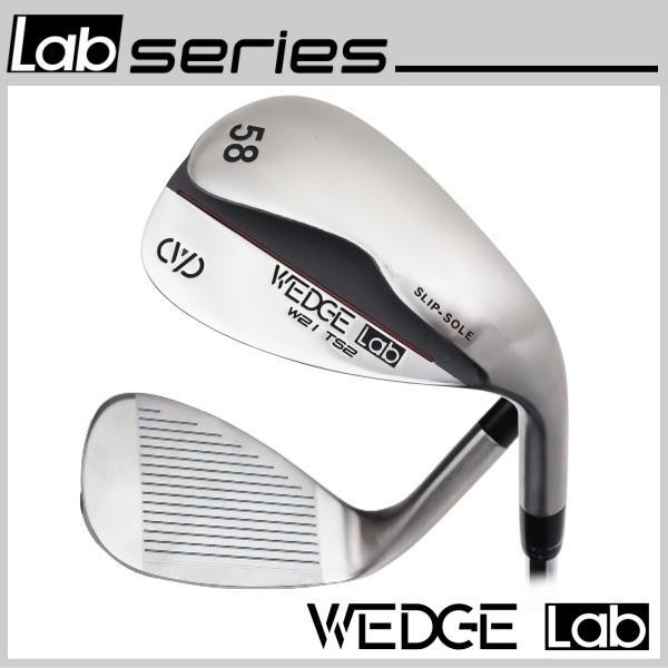 スリップソールウェッジ 52° 58° 64° ウェッジラボ WEDGE Lab スチールシャフト ウェッジ ラボシリーズ powerbilt