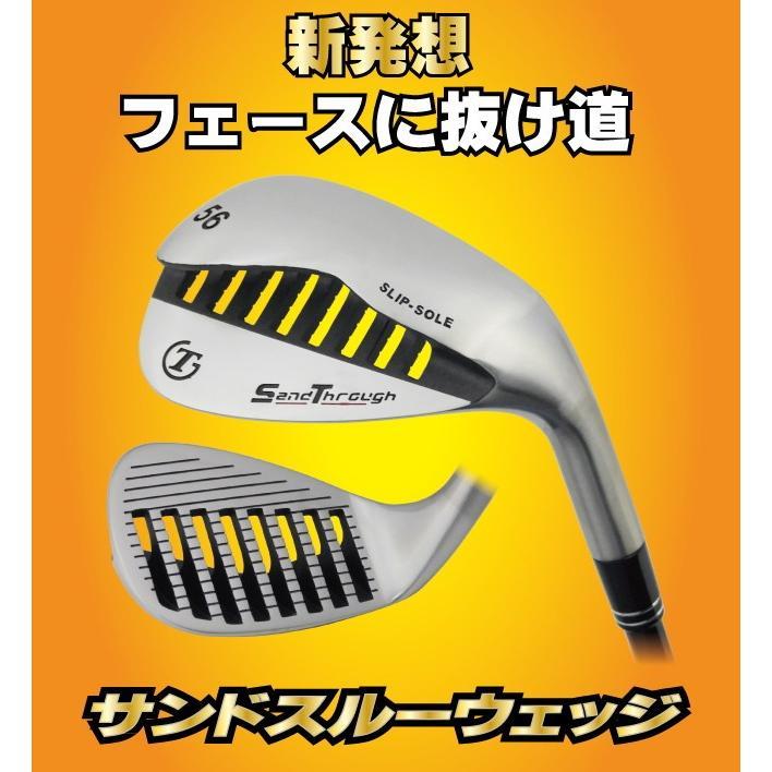 サンドスルー ウェッジ バンカー サンドウェッジ トライアルゴルフ powerbilt 02