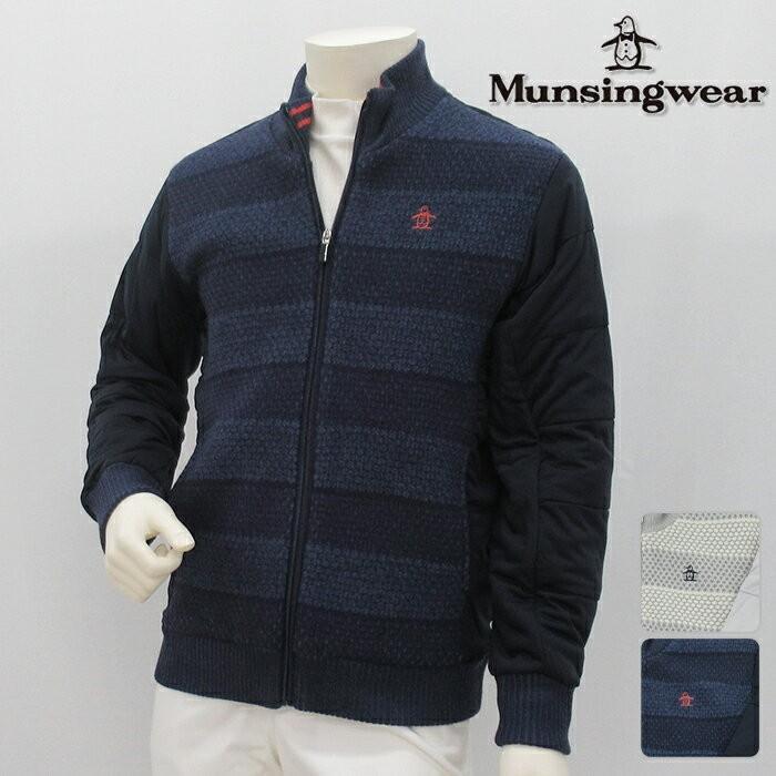 Munsingwear マンシングウエア ブルゾン MENS メンズ 春夏 XJWML630 春夏モデル フルジップ ブルゾン 18 ストレッチ 部