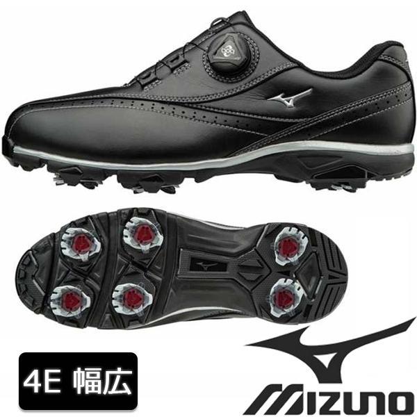 ゴルフシューズ MIZUNO ミズノ ゴルフシューズ メンズ 51GQ1740 4E 幅広タイプ
