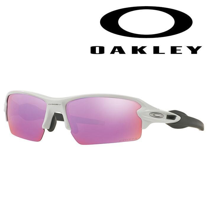 oo9271-10 OAKLEY-オークリー- サングラス Flak 2.0 (Asia Fit) フレームカラー: polished 白い レンズカラー: prizm golf 【サングラス】【アセサリ】