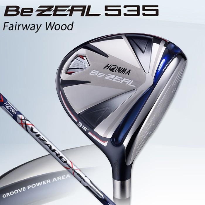 人気カラーの 本間ゴルフ HONMA GOLF ホンマゴルフ BeZEAL 535 ビジール535 フェアウェイウッド VIZARD for Be ZEALカーボンシャフト 18 ゴルフクラブ, 六郷町 7fe7565b