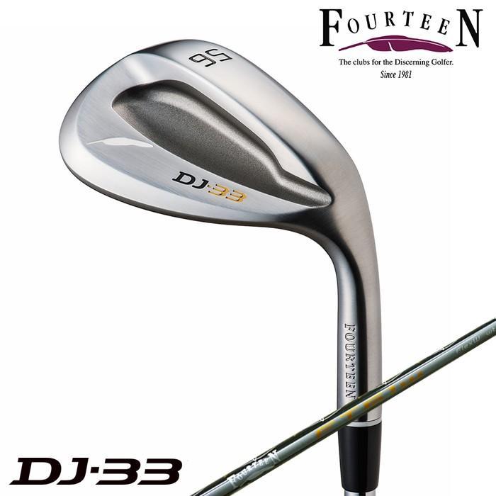 FOURTEEN フォーティーン ウェッジ DJ-33 ディージェイ33 ウェッジ DYNAMIC ゴールド/N.S.PRO 950GH HTスチールシャフト ゴルフクラブ