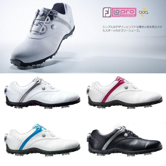 FOOTJOY フットジョイ ゴルフシューズ LADYS レディース LoPro SPORTS SPIKE Boa ロープロ スポーツ スパイク ボア 18 ゴルフ 22.5-25cm 靴 ゴルフ用品