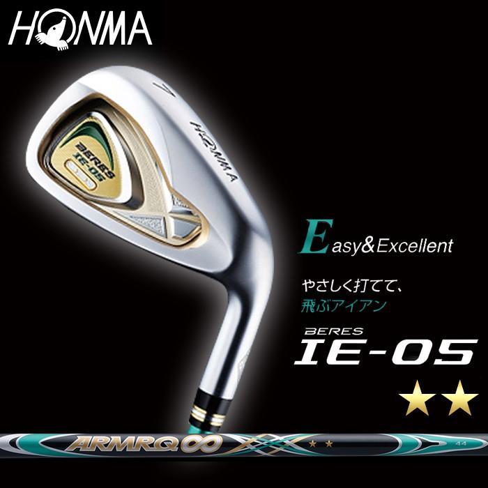 2Sグレード 本間ゴルフ/HONMA GOLF/ホンマゴルフ BERES ベレス IE-05 アイアン6本組(#6〜11)( グレード) ARMR