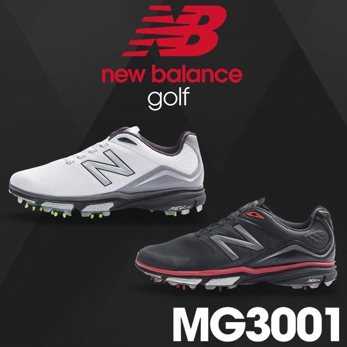 MG3001 NEW BALANCE GOLF-ニューバランスゴルフ- MENS (メンズ) スパイク ゴルフシューズ 足幅:D(やや細め) ゴルフ用品 16