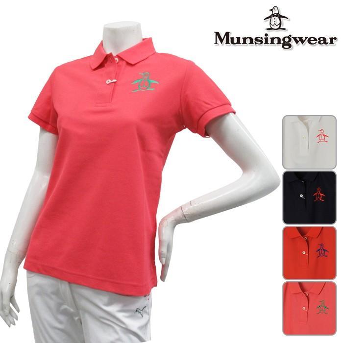 Munsingwear マンシングウエア 半袖 ポロシャツ LADYS レディース 春夏 MGWLGA11 NEW春夏モデル 半袖ポロシャツ 18