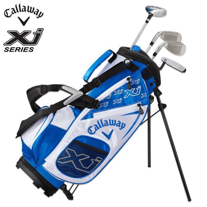 Callaway キャロウェイ ゴルフクラブフルセット キャディーバッグ付き キャディーバッグ付き キャディーバッグ付き JUNIOR ジュニア Xj 1 ジュニアセット クラブ4本セット(身 58f