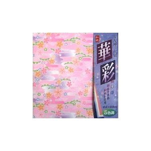 華友禅千代紙「華桜」15cm柄5種25枚入 120冊入り