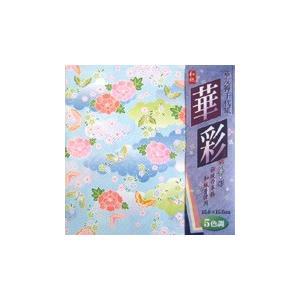華友禅千代紙「華牡丹」15cm柄5種25枚入 240冊入り