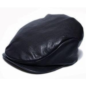 Borsalino(ボルサリーノ) 帽子 レザーハンチング -モナコハンチング-(B3231), ブラック|prast