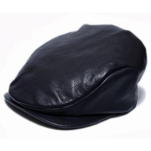 Borsalino(ボルサリーノ) 帽子 レザーハンチング -モナコハンチング-(B3231), ブラック|prast|02