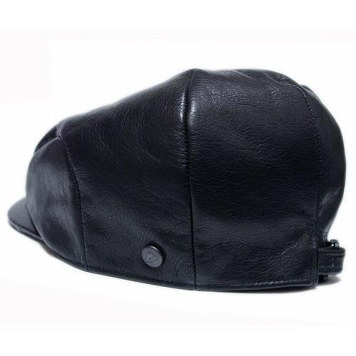 Borsalino(ボルサリーノ) 帽子 レザーハンチング -モナコハンチング-(B3231), ブラック|prast|03