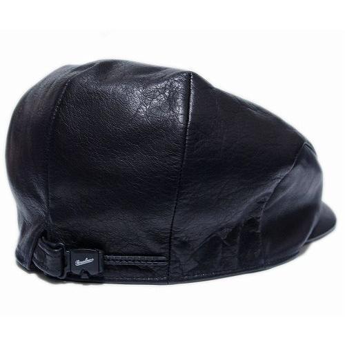 Borsalino(ボルサリーノ) 帽子 レザーハンチング -モナコハンチング-(B3231), ブラック|prast|04