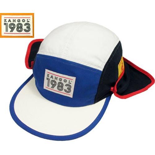 502b261fcc97f KANGOL カンゴール 1983 Hero Sun Hat カンゴール Navy Goldie ...