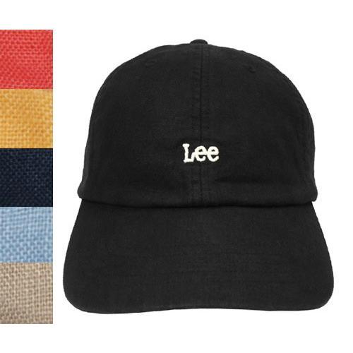 e1a0be35 Lee リー LE LOW CAP LINEN 195-176003 BLACK PINK YELLOW NAVY BLUE ...