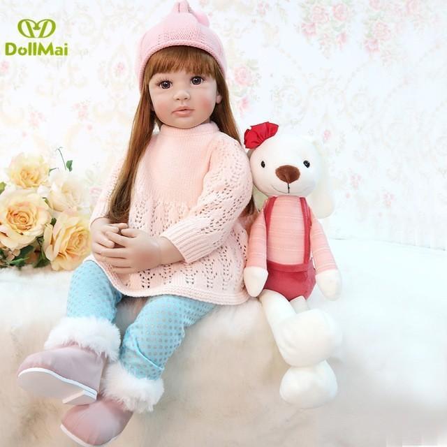 60 cm 女の子 王女の人形 リボーンベビードール 抱き人形 おもちゃ