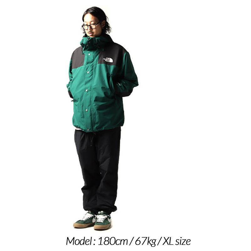 日本未発売 THE NORTH FACE 1990 MOUNTAIN JACKET GTX GREEN × BLACK ザ ノースフェイス ジャケット ( ゴアテックス NFOA3XEJN3P )|precious-place|02