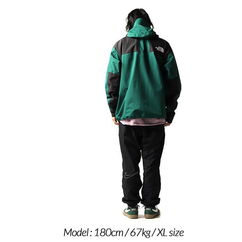 日本未発売 THE NORTH FACE 1990 MOUNTAIN JACKET GTX GREEN × BLACK ザ ノースフェイス ジャケット ( ゴアテックス NFOA3XEJN3P )|precious-place|03