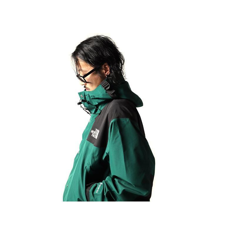 日本未発売 THE NORTH FACE 1990 MOUNTAIN JACKET GTX GREEN × BLACK ザ ノースフェイス ジャケット ( ゴアテックス NFOA3XEJN3P )|precious-place|04