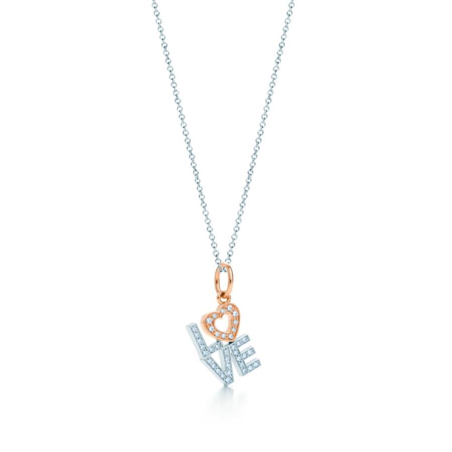 独創的 ティファニー TIFFANY ハート ネックレス ホワイト ローズゴールド 18K ネックレス ダイヤモンド LOVE チェーン61cm ハート チェーン61cm, ネックレス指輪 Ladies Present EJ:03883a3c --- airmodconsu.dominiotemporario.com