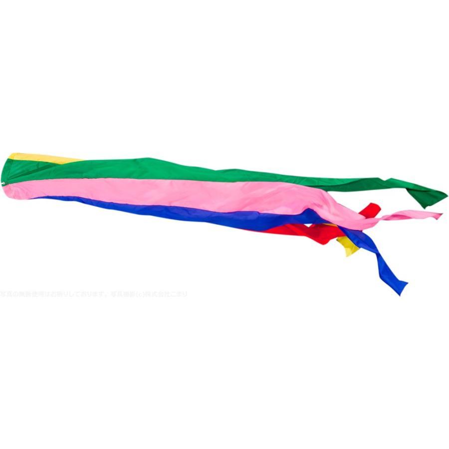 鯉のぼり こいのぼり ポリエステル フジサン五色吹流し 7m単品 吹流し変更
