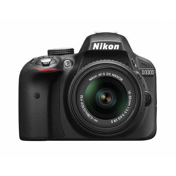 中古 1年保証 美品 Nikon D3300 18-55mm VR II レンズキット ブラック premierecamera
