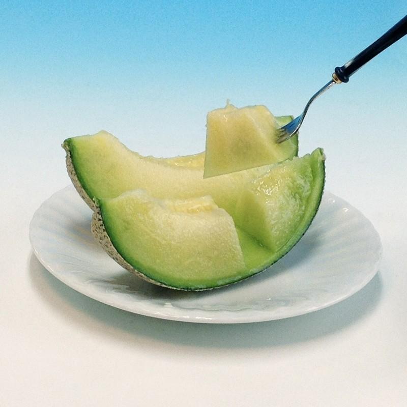 静岡産クラウンメロン白等級2個  約1.3Kg×2|premium-greengrocery|02