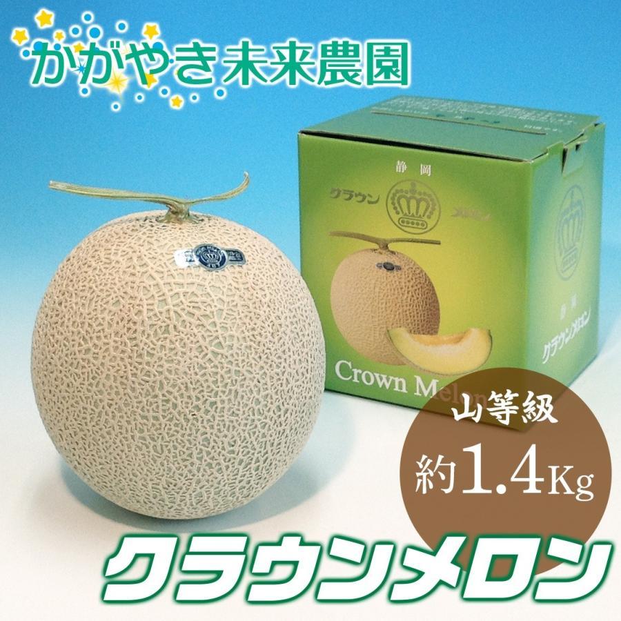 静岡産クラウンメロン山等級 約1.4Kg|premium-greengrocery