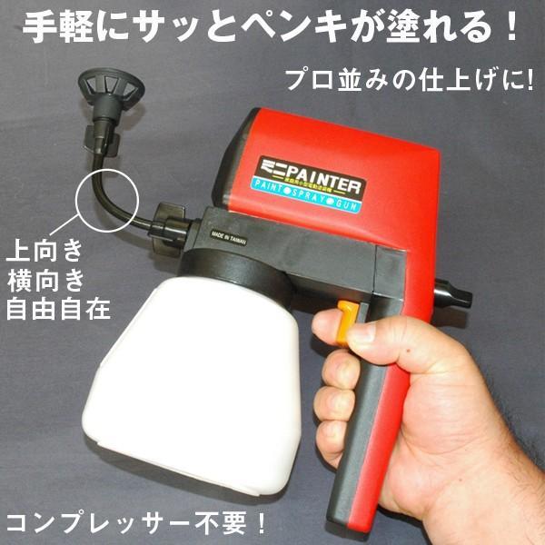 送料無料!電動ミニペインター(簡単ペンキ塗り,電動吹付スプレータイプ,ペンキ塗り機,素人でもできるペンキ塗り)