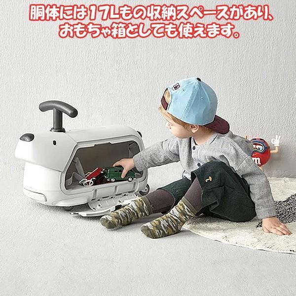 乗用玩具「ボントイ・トラベラー」(Bontoy ワンちゃんデザイン キャリーバッグ 子供 乗り物 おもちゃ箱 収納ケース トロリーバッグ) premium-pony 04