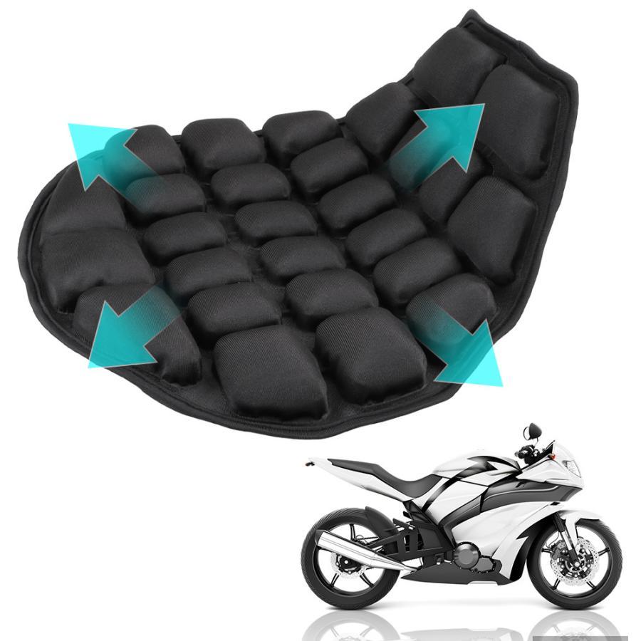 バイク クッション オートバイ インフレータブル 空気パッド クールシート カバー クッション サドル リリーフ シート|premiumgarage|04