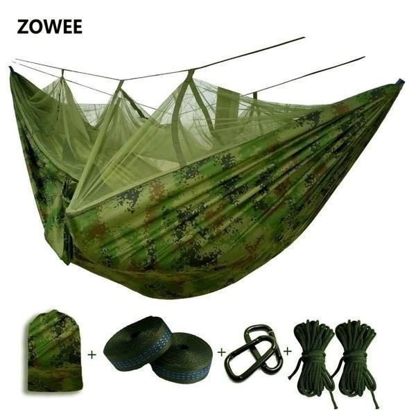 ハンモック 蚊帳 超軽量 パラシュートハンモック 吊るしタイプ 防蚊 屋外 キャンプ テント premiumgarage 02
