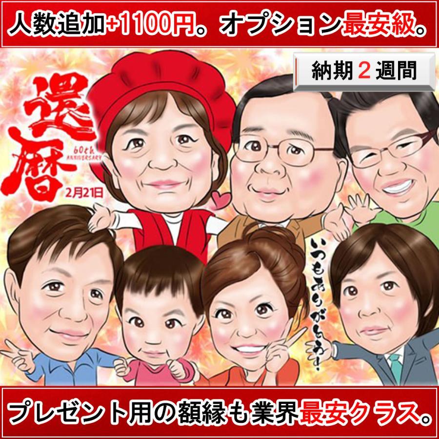 還暦 プレゼント 還暦祝い 男性 女性 のお祝い 名入れ 父 母 両親 60代 赤 喜寿 喜寿のお祝いの品 紫 古希 傘寿 卒寿 米寿 似顔絵「デジタルインパクト」 presentnet