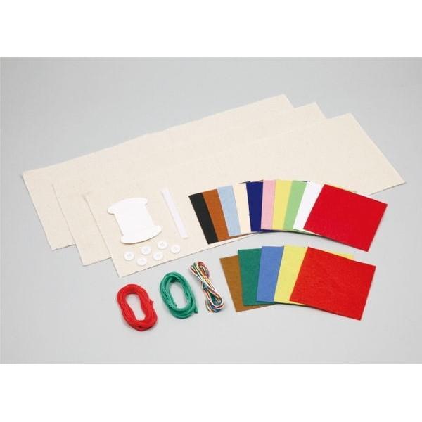 基礎縫いかんたん布絵本づくり ※未完成品(商品画像は作品例となります。)|prettyw|03