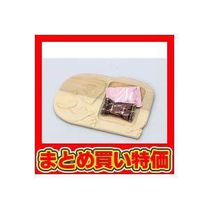 木彫皿(桂) ※未完成品(商品画像は作品例となります。) ※セット販売(120点入)