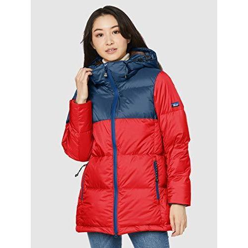 [クリフメイヤー]  NANGA retro down jacket ladies MEDIUM red