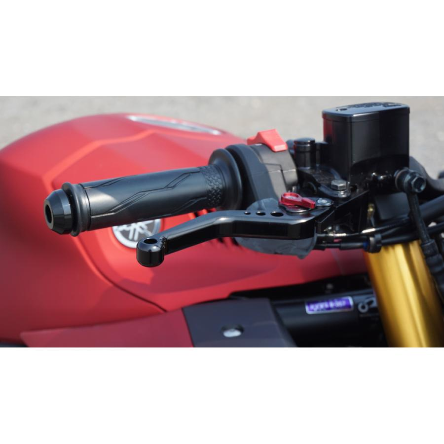 YZF-R25 YZF-R3 MT-25 MT-03 ブレーキ クラッチ レバー セット 6段階調整 長さ:ショート primaveramotorcycle 11