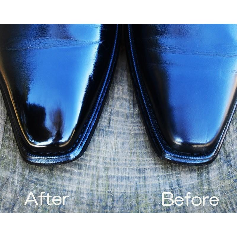 鏡面 磨き 革靴 革靴鏡面磨き やり方解説
