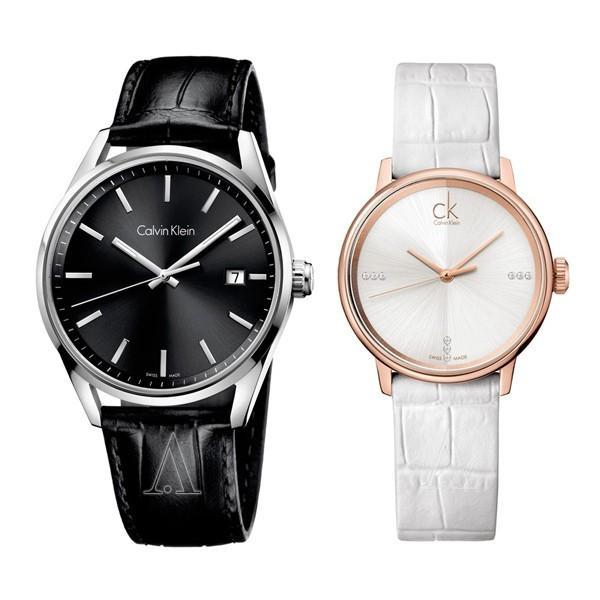 本店は カルバンクライン 44mm ペアウォッチ フォーマリティ アクセント 腕時計 44mm 32mm ブラック シルバー ローズゴールド ブラック ホワイト レザー K4M211C3K2Y2Y6KW 腕時計, ホクダンチョウ:c623fbaa --- airmodconsu.dominiotemporario.com