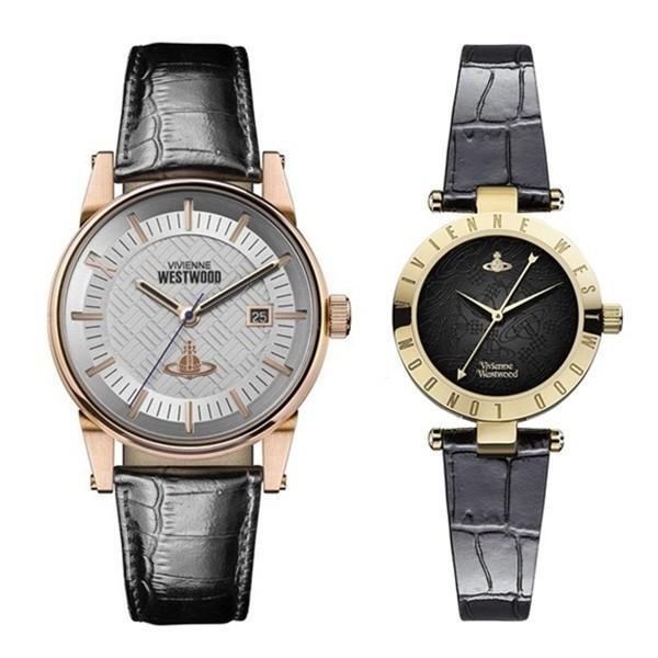 格安新品  ヴィヴィアン レザー ウエストウッド ペアウォッチ レザー VV065SWHBKVV092BKBK ペアウォッチ 腕時計 腕時計, Earth Drops:f96ee421 --- airmodconsu.dominiotemporario.com