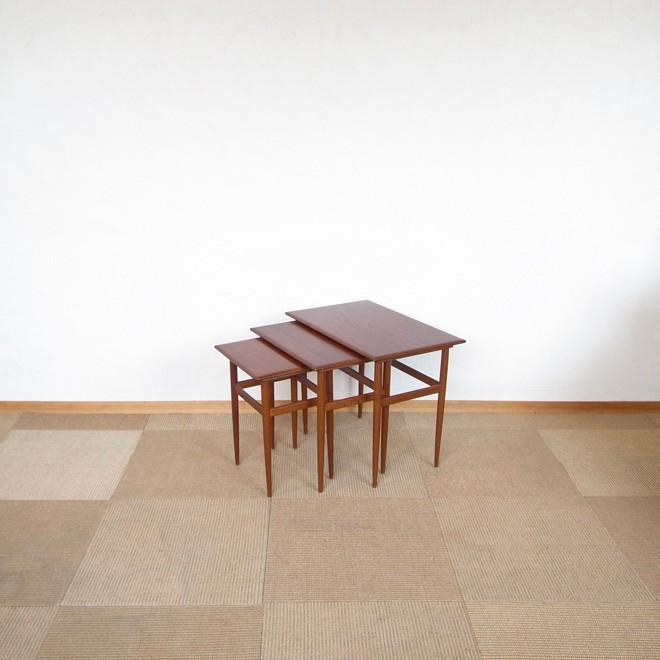 ネストテーブル ネストテーブル チーク 北欧ヴィンテージ家具