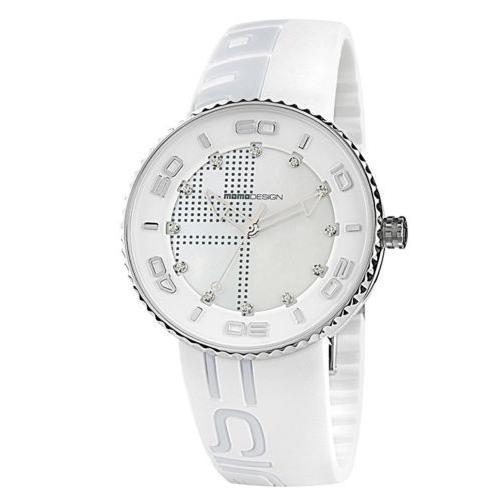 【レビューを書けば送料当店負担】 腕時計 レディース モモデザイン Momo Design Women's Sport 3187SS-31 43mm Watch, マット専門店 織人しきもの屋工房 91819997