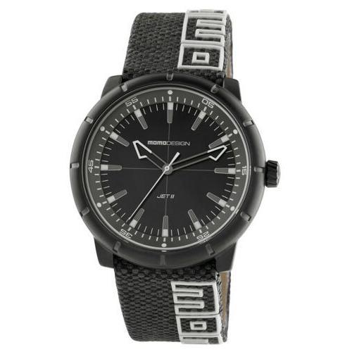 素晴らしい 腕時計 メンズ モモデザイン Momo Design Men's Sport 8287BK-13 42.5mm Watch, はせがわオンラインショップ 84289b26